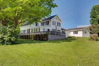 Isle La Motte Single Family Home For Sale: 1227 East Shore Road