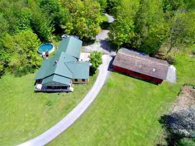 Franklin County Single Family Home For Sale: 750 Swamp Road
