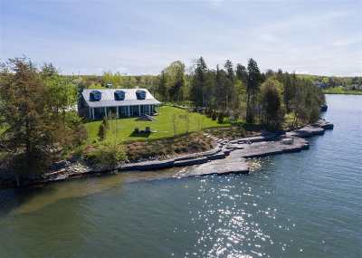 South Hero Single Family Home For Sale: 301 West Shore Road