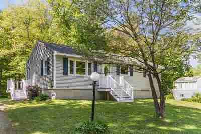 Merrimack Single Family Home Active Under Contract: 20 Fairway Drive