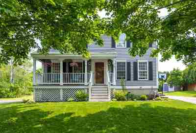 Manchester Single Family Home Active Under Contract: 81 Morning Glory Drive