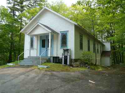 Holderness Single Family Home For Sale: 40 Nh Route 113 Route