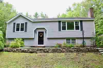 Newmarket Single Family Home Active Under Contract: 306 Ash Swamp Road