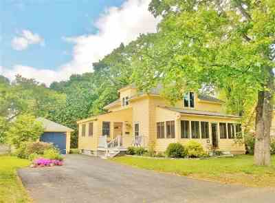 Concord Single Family Home Active Under Contract: 40 Noyes Street