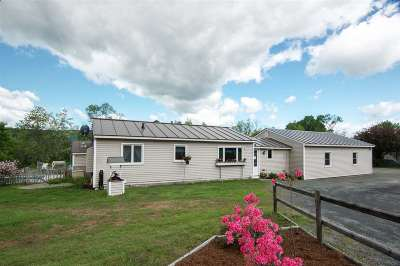Lyme Single Family Home For Sale: 301 Orford Road