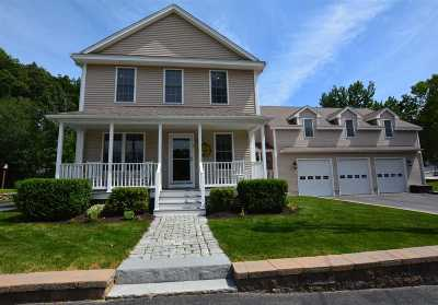 Hooksett Single Family Home Active Under Contract: 1 West Stearns Avenue