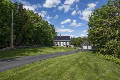 Bow Single Family Home Active Under Contract: 45 Woodhill Hooksett Road