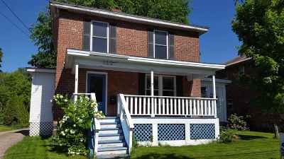 Burlington Single Family Home For Sale: 122 Shelburne Road