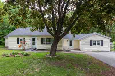 Concord Single Family Home Active Under Contract: 84 Penacook Street