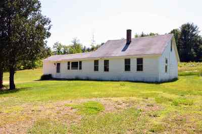 Loudon Single Family Home Active Under Contract: 49 Clough Pond Road