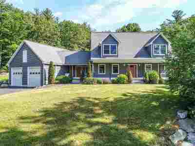 Hooksett Single Family Home For Sale: 287 Hackett Hill Road