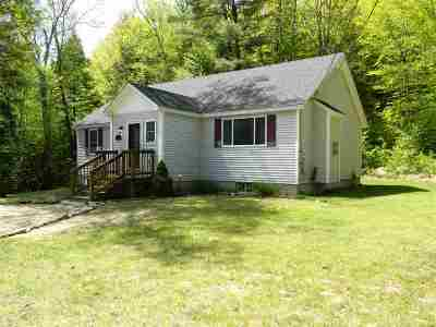 Sanbornton Single Family Home For Sale: 772 A Stage Road
