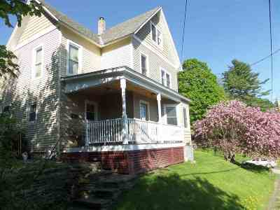 Montpelier Single Family Home For Sale: 15 River Street