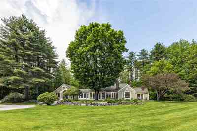 Merrimack County Single Family Home Active Under Contract: 44 Campground Road