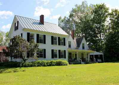 Single Family Home For Sale: 830 Dartmouth College Highway