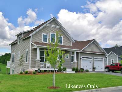Vergennes Single Family Home For Sale: Lot #27 Commodore Drive #27