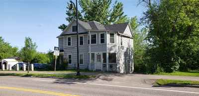 Burlington Multi Family Home For Sale: 189-191 Riverside Avenue