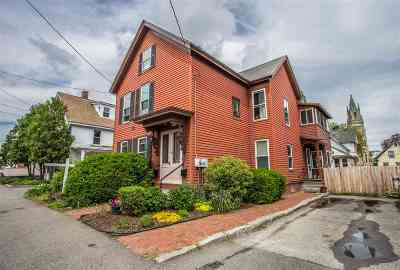 Concord Multi Family Home Active Under Contract: 16 N Spring Street