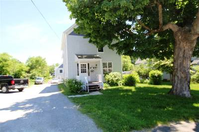 Rutland, Rutland City Multi Family Home For Sale: 172 Lincoln Avenue