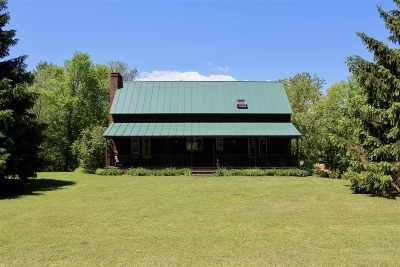 Poultney Single Family Home For Sale: 320 Thrall Road