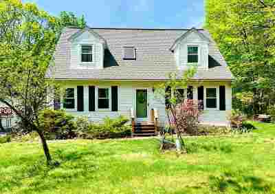 Goffstown Single Family Home Active Under Contract: 39 Amoskeag Drive