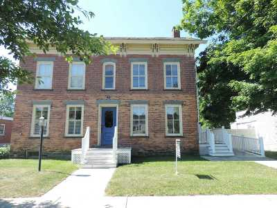 Poultney Single Family Home For Sale: 143 Main Street