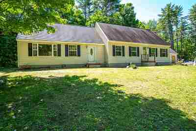 Tuftonboro Single Family Home For Sale: 6 Birch Lane