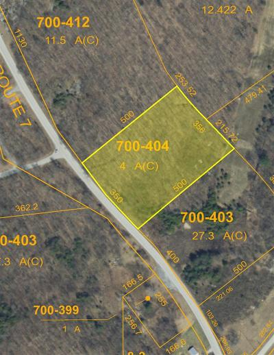Residential Lots & Land For Sale: Rte 7
