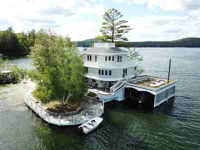 Meredith Single Family Home For Sale: 1 Welcome Island