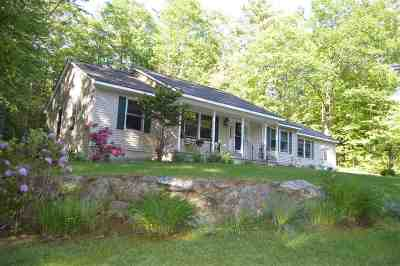 Meredith Single Family Home For Sale: 38 Livingston Road