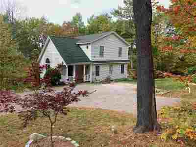 Gilford Single Family Home Active Under Contract: 291 Mountain Drive