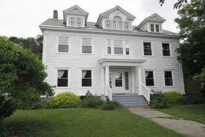 Poultney Single Family Home Active Under Contract: 68 Church Street