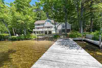 Wolfeboro Single Family Home Active Under Contract: 224 McManus Road