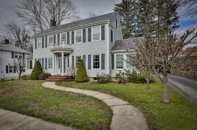 Nashua Single Family Home Active Under Contract: 7 Bennett Street