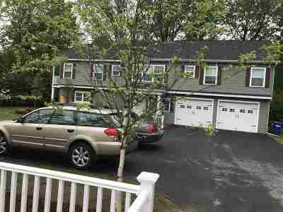 South Burlington Single Family Home For Sale: 27 Birch Street Avenue #Rear hou