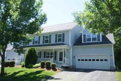 Chittenden County Condo/Townhouse Active Under Contract: 33 Lavoie Drive
