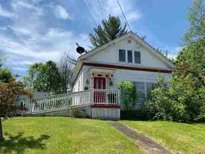Littleton NH Single Family Home For Sale: $119,900