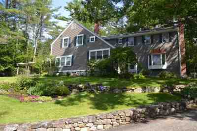 Tuftonboro Single Family Home For Sale: 149 Sodom Road