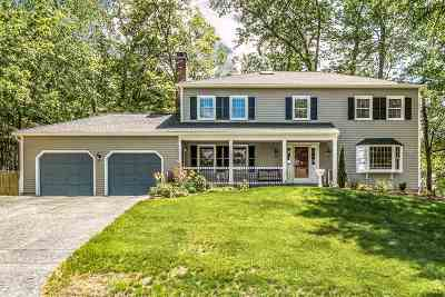 Nashua Single Family Home Active Under Contract: 9 Shadowbrook Drive
