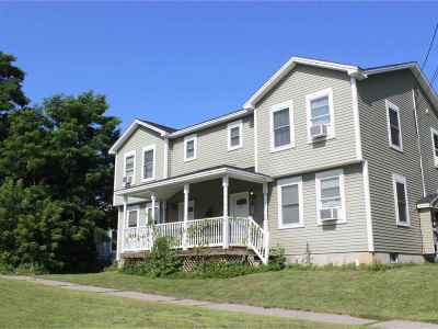 Vergennes Multi Family Home For Sale: 60 West Main Street