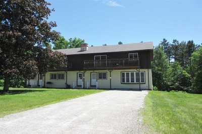 Rutland Town Multi Family Home For Sale: 57 & 93 Crossman Drive