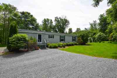 Ferrisburgh Single Family Home For Sale: 316 Sleepy Hollow Lane