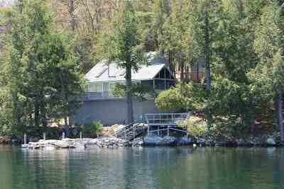 Meredith Single Family Home For Sale: 151 Bear Island