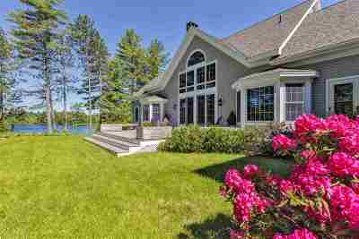 Bedford, Goffstown, Manchester, Nashua, Canterbury, Concord, Danbury, Hooksett, New London, Northfield Single Family Home For Sale: 58 Little Cove Road