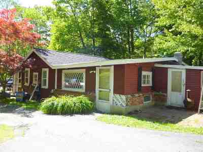 Wolfeboro Single Family Home For Sale: 663 Pine Hill Road