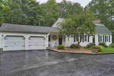 Hollis Single Family Home Active Under Contract: 12 Hideaway Lane
