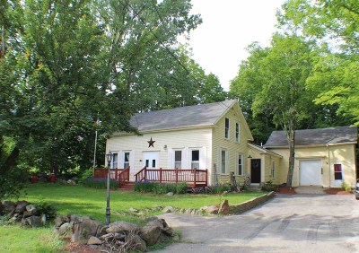 Northwood Single Family Home Active Under Contract: 360 1st Nh Turnpike Turnpike