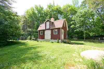 Wolfeboro Single Family Home For Sale: 253 Beach Pond Road