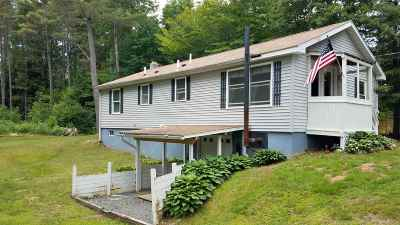 Sanbornton Single Family Home For Sale: 128 Hermit Lake Road