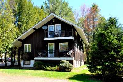 Stowe Single Family Home For Sale: 3180 Mountain Road
